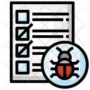 Testing Bug Testing Virus Icon