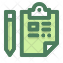 Test Analysis Checklist Icon