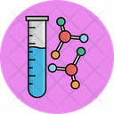 Testing Lab Chemistry Lab Experiment Icon