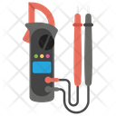 Testing Meter Car Services Electric Tester Icon