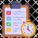 Testing Time Icon