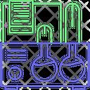 Testing Tube Lab Equipment Culture Tube Icon