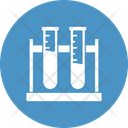 Testing Tubes Chemical Flask Lab Glassware Icon