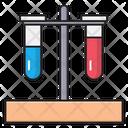 Testtube Blood Lab Icon