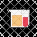 Testtube Beaker Lab Icon