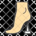 Tetanus Lockjaw Foot Icon