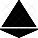 Tetrahedrap polyhedron Icon
