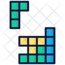 Tetris Bricks Arcade Icon