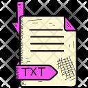 Tex Document Format Icon