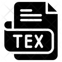 Tex Document File Icon