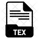 Tex File Format Icon