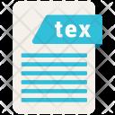 Tex File Formats Icon