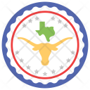 Texas Independence Day Icon