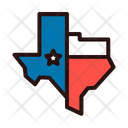 Texas Map Icon