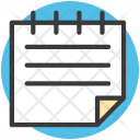 Text Sheet File Icon