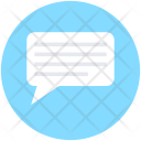 Text Message Texting Icon