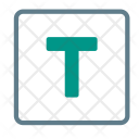 Text Type Letter Icon