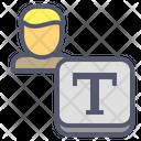 Text Write Article Icon