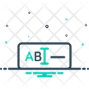 Text Ios Typography Icon