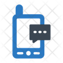 Text Message Phone Icon