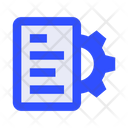 Text Document Technical Icon