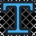 Text Tool Development Icon