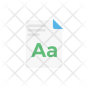 Text File Document Icon