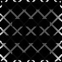 Text Alignment Align Icon