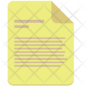 Text File Paper Icon