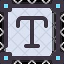 Text Type Square Icon