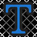 Text Format Design Icon