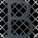 Text Bold Icon