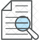 Text Search Document Icon