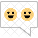 Text Messaging Emojis Icon