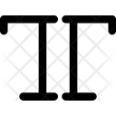 Text All Caps Text Box Text Icon
