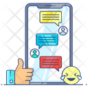 Text App Messaging App Mobile Chat Icon