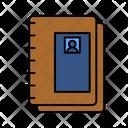 Text Book School Book Book Icon