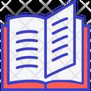 Book Text Book Reading Icon