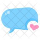 Text Bubble Chatting Text Icon
