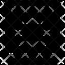Text Center Align Icon
