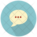 Text Chat Bubble Icon