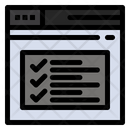Text Check Browser Text Text Icon