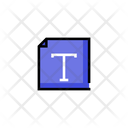 Text Editor Text File Icon