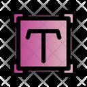 Editor Select Text Icon