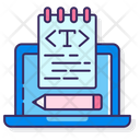 Text Editor Text Editor Tool Text Edit Icon