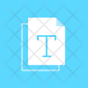 File Font Type Icon