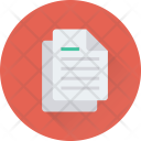 Text File Sheet Icon