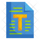 Text File Text Paper Icon
