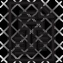 Text Paper Web Icon