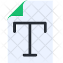 Text File Document File Icon